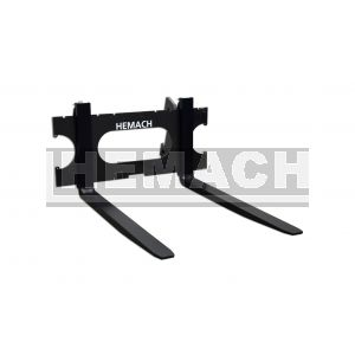 Hemach Palletvork / palletbord met vorken, 2000KG, Euro