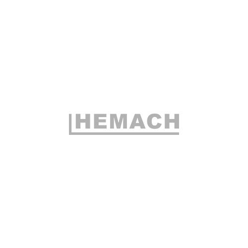 Sneeuwschuif / sneeuwploeg / sneeuwruimer oranje voor mini-shovel