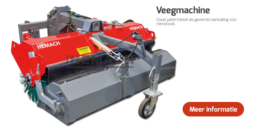 Hemach Veegmachine mini-Shovel